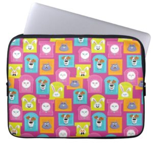 Secret Life of Pets Pattern Computer Sleeve