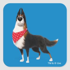 Secret Life of Pets - Rooster Square Sticker