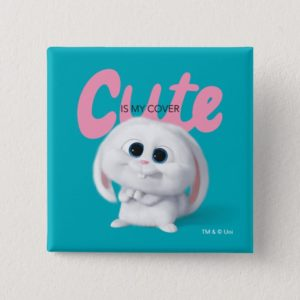 Secret Life of Pets - Snowball | Cute is My Cover Button