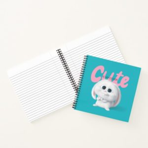 Secret Life of Pets - Snowball | Cute is My Cover Notebook