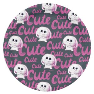 Secret Life of Pets - Snowball Cute Pattern Paper Plate