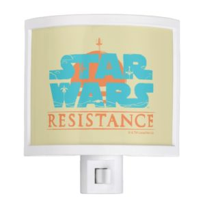 Star Wars Resistance | Ace Squadron Logo Night Light