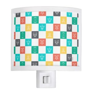 Star Wars Resistance | Aces Icon Checker Pattern Night Light