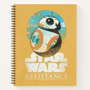 Star Wars Resistance | BB-8 Badge Notebook