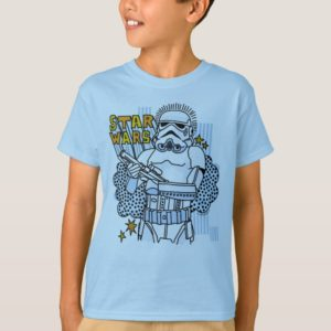 Stormtrooper Doodle Sketch T-Shirt