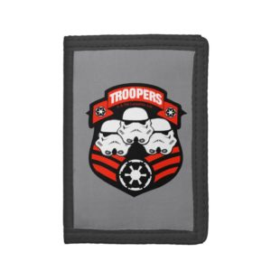 Stormtroopers Imperial Badge Trifold Wallet