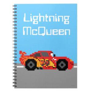 8-Bit Lightning McQueen Notebook