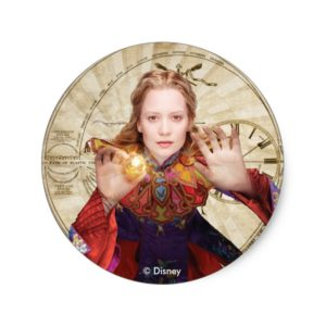 Alice | Believe the Impossible Classic Round Sticker