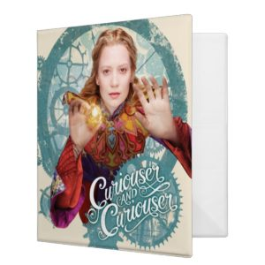Alice | Curiouser and Curiouser 2 3 Ring Binder