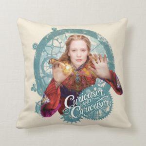 Alice   Curiouser and Curiouser 2 Throw Pillow