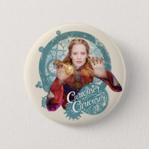 Alice | Curiouser and Curiouser Pinback Button