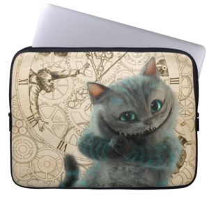 Alice Thru the Looking Glass | Cheshire Cat Grin Computer Sleeve