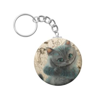 Alice Thru the Looking Glass | Cheshire Cat Grin Keychain
