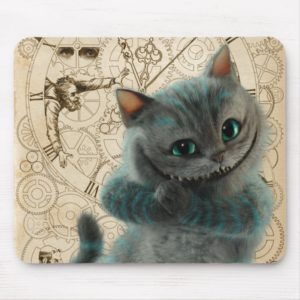Alice Thru the Looking Glass | Cheshire Cat Grin Mouse Pad