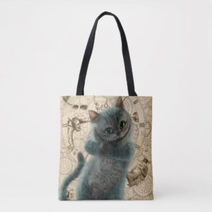 Alice Thru the Looking Glass | Cheshire Cat Grin Tote Bag