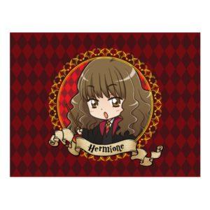 Anime Hermione Granger Postcard