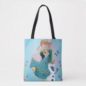 Anna and Elsa   Celebrate Sisterhood Tote Bag
