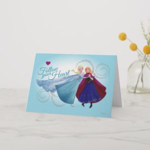 Anna and Elsa | Family Love Card