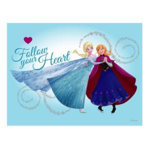 Anna and Elsa   Family Love Postcard