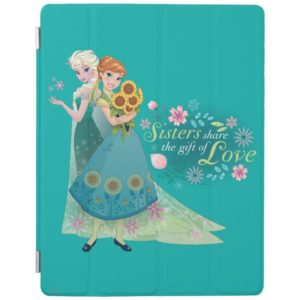 Anna and Elsa   Sister Love iPad Smart Cover
