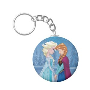Anna and Elsa | Together Forever Keychain