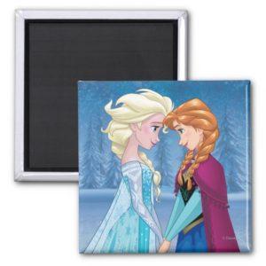 Anna and Elsa | Together Forever Magnet