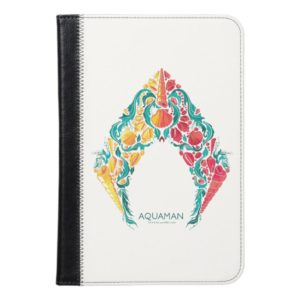 Aquaman | Aquaman & Mera Themed Seashell Logo iPad Mini Case