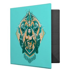 Aquaman | Aquaman & Trenchers Graphic 3 Ring Binder