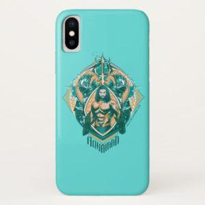 Aquaman   Aquaman & Trenchers Graphic Case-Mate iPhone Case