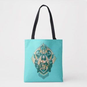 Aquaman | Aquaman & Trenchers Graphic Tote Bag