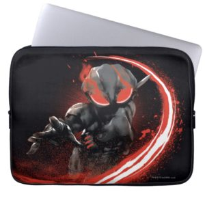 Aquaman | Black Manta Red Swipe Graphic Computer Sleeve