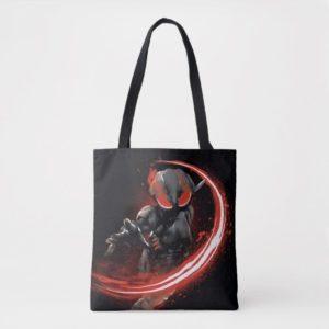 Aquaman | Black Manta Red Swipe Graphic Tote Bag