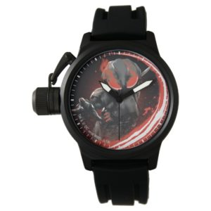 Aquaman | Black Manta Red Swipe Graphic Watch