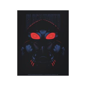 Aquaman | Black Manta Shadowy Graphic Canvas Print