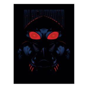 Aquaman | Black Manta Shadowy Graphic Postcard