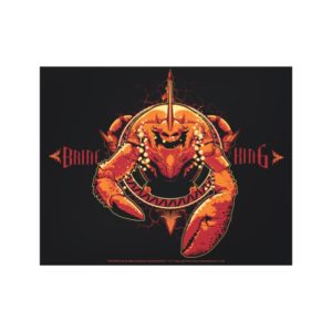 Aquaman | Brine King Graphic Canvas Print