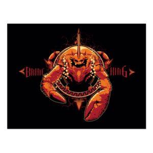 Aquaman | Brine King Graphic Postcard