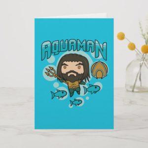 Aquaman   Chibi Aquaman Undersea Graphic Card