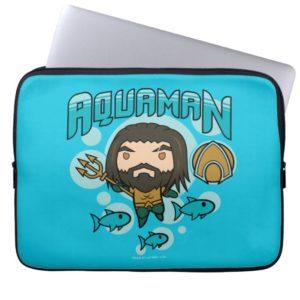 Aquaman | Chibi Aquaman Undersea Graphic Computer Sleeve
