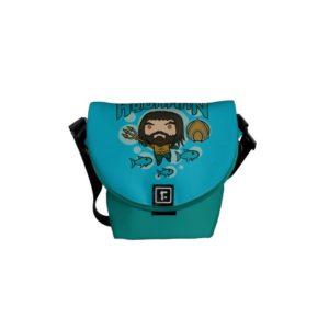 Aquaman | Chibi Aquaman Undersea Graphic Courier Bag