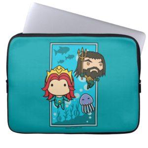 Aquaman | Chibi Mera & Aquaman Undersea Graphic Computer Sleeve