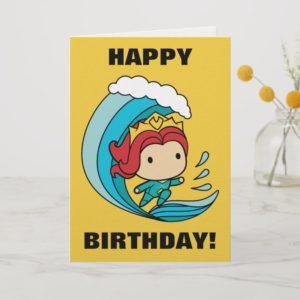 Aquaman | Chibi Mera Riding Wave Graphic Card