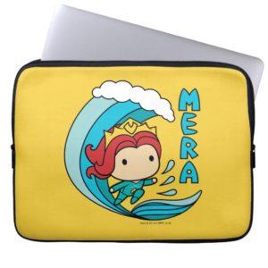 Aquaman | Chibi Mera Riding Wave Graphic Computer Sleeve
