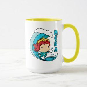 Aquaman | Chibi Mera Riding Wave Graphic Mug