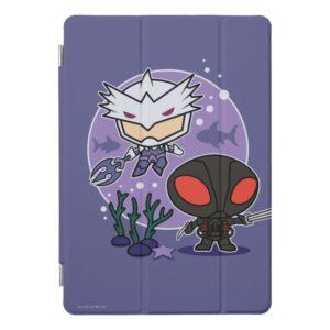 Aquaman   Chibi Orm & Black Manta Undersea Graphic iPad Pro Cover