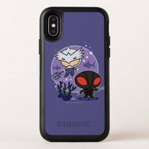 Aquaman   Chibi Orm & Black Manta Undersea Graphic OtterBox iPhone Case