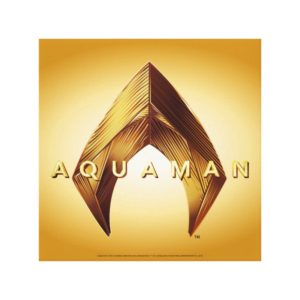 Aquaman | Golden Aquaman Logo Canvas Print