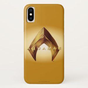 Aquaman | Golden Aquaman Logo Case-Mate iPhone Case