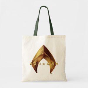 Aquaman | Golden Aquaman Logo Tote Bag