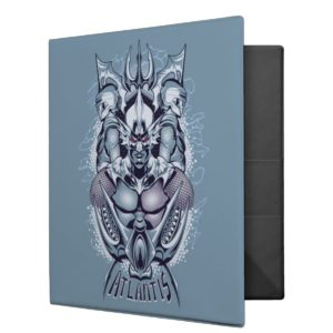 Aquaman | King Orm of Atlantis Graphic 3 Ring Binder